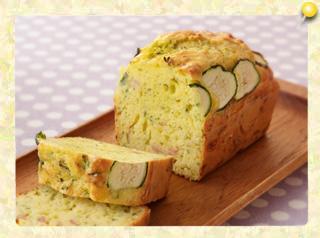 ズッキーニのブレッド風ケーキ